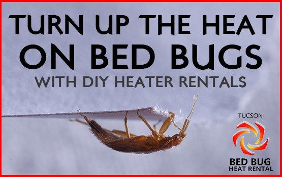 DIY Bed Bug Heater Rental